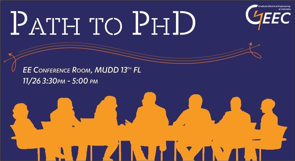 Path to Ph.D. Event Flyer